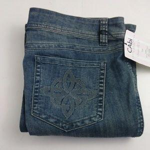 Cabi bootcut blue jeans women's size 14